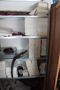 Det material som används till stoppning i filtsadeln. Stoppningen är väldigt formstabil och trycks inte ihop även om det utsätts för långvarig användning.